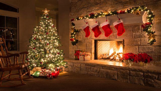 Картинки по запросу рождество камин