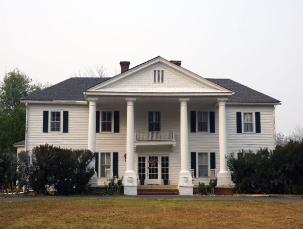 Andrew Ross Home. Elements of the original structure belonging to Cherokees Andrew and Susannah Lowery Ross are still present in this private residence. (Erin Harney/Alabama NewsCenter)