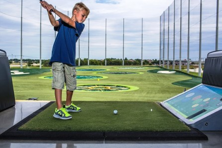 Birmingham officials are displaying a willingness to work with businesses that is paying off in announced developments such as Topgolf downtown. Pictured is the Topgolf location in Dallas. (Ben and Kelly Photography)