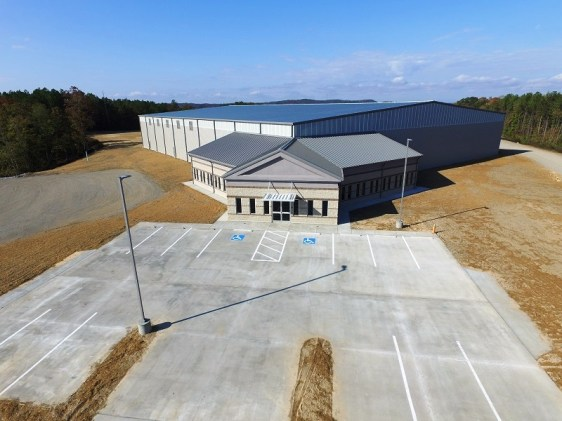 The new 53,000-square-foot spec building in Jasper Industrial Park. (Walker County Development Authority)