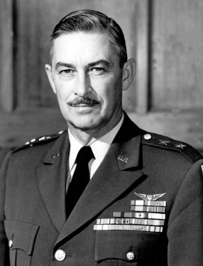Army General John Medaris headed the Army Ballistic Missile Agency, which oversaw both JPL and Wernher von Braun's rocket team in Huntsville. JPL and the Army teamed up to launch Explorer 1. The Huntsville team provided the first-stage rocket, while JPL built the upper stages and the satellite that carried the science payload. Medaris played a pivotal role in advancing the development of Explorer 1. (U.S. Army)