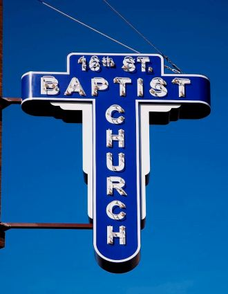 Sixteenth Street Baptist is one of 39 sites significant to civil rights history that will receive grants from the National Park Service through the African American Civil Rights Grant Program. (Carol Highsmith/Library of Congress)