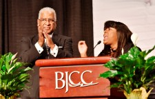 Birmingham held its annual Unity Breakfast at the Birmingham-Jefferson Convention Complex today in honor of Martin Luther King Jr. and civil rights history. Birmingham Mayor William Bell and Rep. Terri Sewell were among the speakers. (Frank Couch / Alabama NewsCenter)