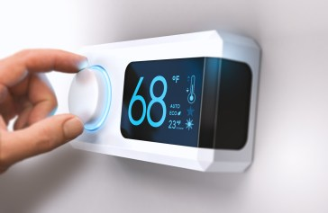 Programmable and smart thermostats give you better control over when your heat and air conditioning are on. (iStock)