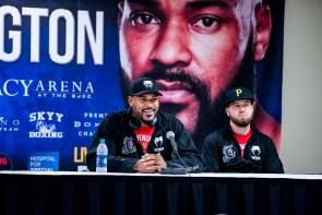 Gerald Washington said he learned from this fight. (Nik Layman / Alabama NewsCenter)