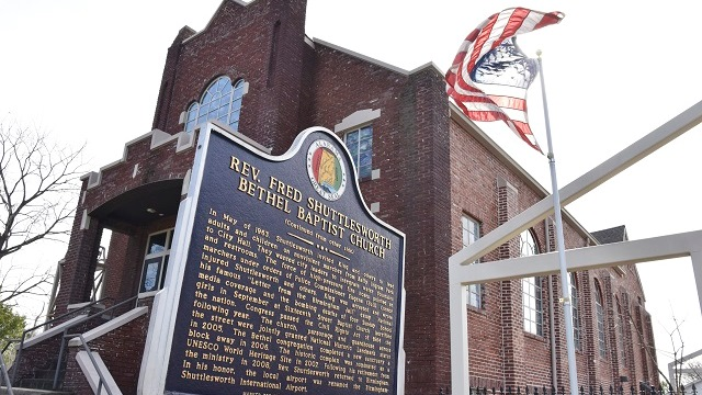 Black History: Bethel Baptist Church in Birmingham played key role in civil rights movement