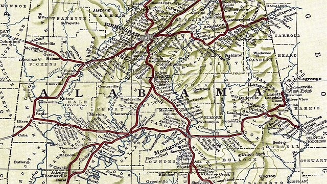 'Sweet Home: Alabama's History in Maps' exhibit coming to Birmingham Public Library