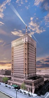 The $30 million renovation of the Thomas Jefferson Tower used state historic tax credits. (contributed)