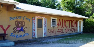 Possum Trot has been auctioning anything it can legally sell since 1989. (Anne Kristoff/Alabama NewsCenter)