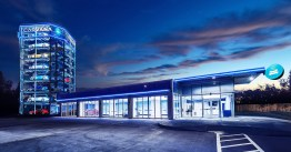 The San Antonio car vending machine is the latest that online car company Carvana opened on March 15. (Carvana)