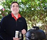 Robert Landers is co-owner of Mis' Rubin's Seasonings. (Michael Tomberlin / Alabama NewsCenter)