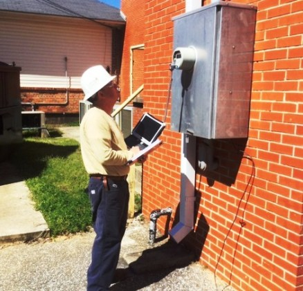 Meters should be in areas that have clear, easy access. (Linda Brannon/Alabama NewsCenter)