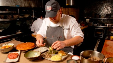 "SpringHouse Executive Chef Rob McDaniel is nominated for the James Beard Foundation ""Best Chef: South"" award for the fifth straight year. (Billy Brown / Alabama NewsCenter)"