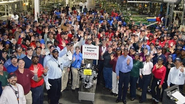 Study Toyota Engine Plant Supports 9 700 Alabama Jobs