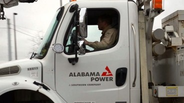 Alabama Power crews were ready to provide assistance, but it wasn't needed as Winter Storm Stella's impact was not as widespread as predicted. (Michael Tomberlin / Alabama NewsCenter)