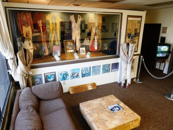 The Commodore Museum, housed in the band's old Tuskegee work space, has a wealth of memorabilia from Tuskegee's favorite musical sons. (Contributed)
