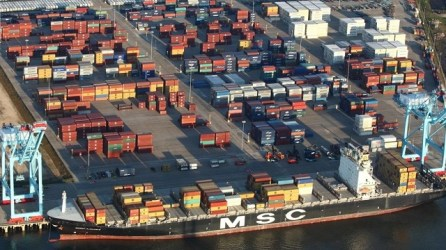 Walmart's announcement of a $135 million import distribution center is a major boost for the Port of Mobile. (Contributed)