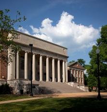 Amelia Gayle Gorgas Library, University of Alabama. (The George F. Landegger Collection of Alabama Photographs in Carol M. Highsmith's America, Library of Congress, Prints and Photographs Division)
