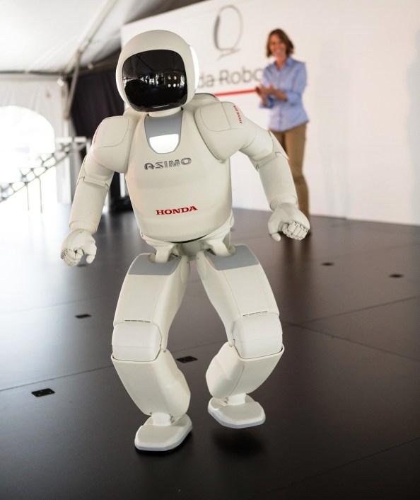 ASIMO has visited Honda Manufacturing of Alabama before. (Honda)