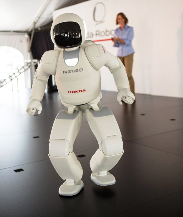 ASIMO has visited Honda Manufacturing of Alabama before. (Honda)