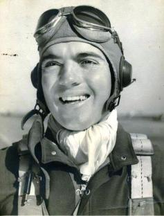 Alvin Vogtle during his days as a pilot during World War II. (Contributed)