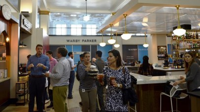 The newly opened Pizitz Food Hall has been popular with the downtown crowd. (Michael Tomberlin/Alabama NewsCenter)