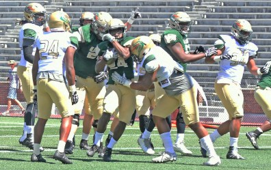 The UAB Blazers football team is back in action for its spring game at Legion Field. (Solomon Crenshaw Jr.\Alabama NewsCenter)