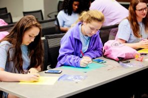Students participate in iCan activities. (Breanna Fogg / Alabama NewsCenter)