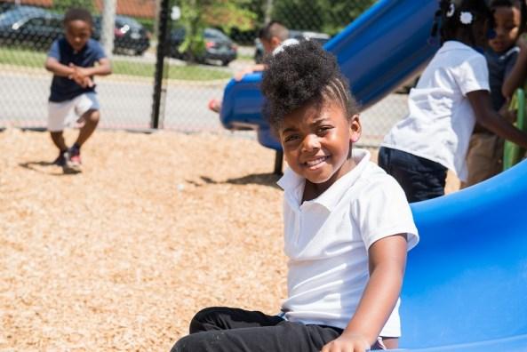 Like other schools participating in Alabama's First Class Pre-K program, Birmimgham's Glen Iris Elementary School sees big gains among students. (Nik Layman/Alabama NewsCenter)