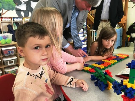 A vote today in the Alabama Legislature will make First Class Pre-K programs, like the one at First Church Birmingham Early Learning Center, available to 100 additional classrooms in the state. (Brittany Faush-Johnson / Alabama NewsCenter)