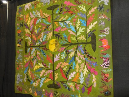 Festival of Quilts 2017 - Spring Time in Mobile. (Contributed)
