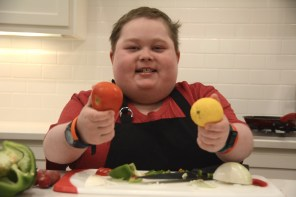 Fuller Goldsmith won Food Network's Chopped Junior and will be demonstrating at Pepper Place Farmer's Market Saturday. (Karim Shamsi-Basha / Alabama NewsCenter)