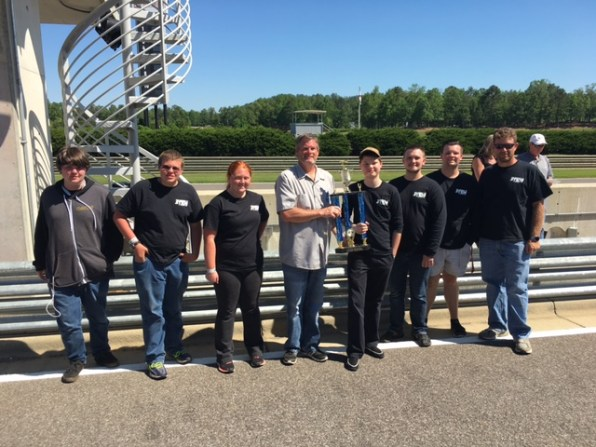 LeCroy Career Technical Academy, Chilton County Schools, Clanton, Alabama, First Place in High School Class, 27 laps in two one-hour races. (Alabama NewsCenter)