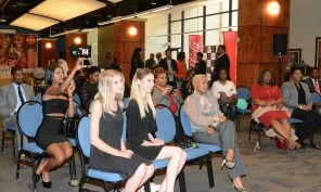 The audience listens in to a Fusion session. (Brittany Faush-Johnson/Alabama NewsCenter)