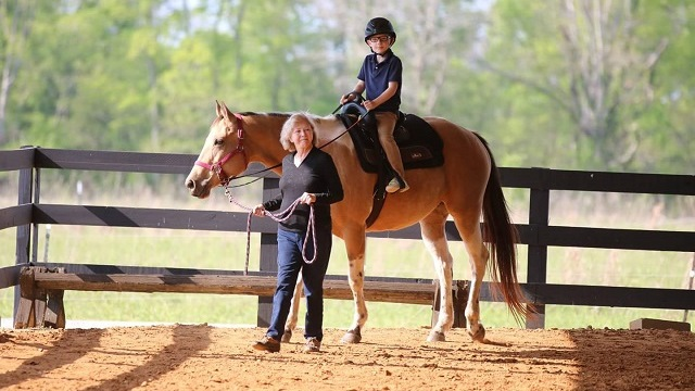 Riders don't 'horse around' at Montgomery equine facility