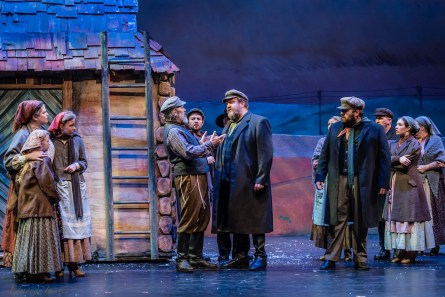 """Red Mountain Theater Company presents """"Fiddler on the Roof"""" at the Dorothy Jemison Day Theater in Birmingham, directed by Keith Cromwell, June 9-25. (Stewart Edmonds)"""