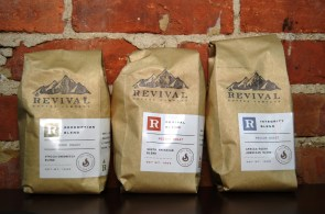 Revival Coffee's different blends benefit causes with a portion of each bag sold. (Michael Tomberlin / Alabama NewsCenter)
