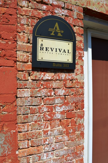 Revival Coffee Company is one of the businesses giving a boost to downtown Selma's revitalization. (Michael Tomberlin / Alabama NewsCenter)