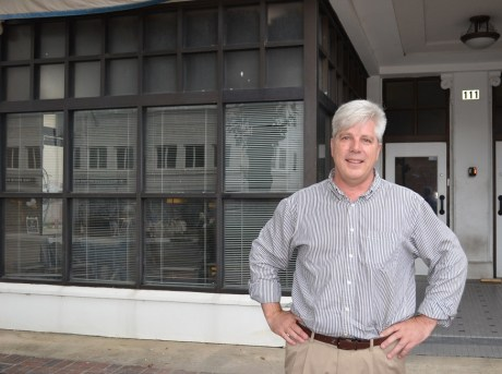 Richard Newton plans to open Kyoto Yakitori in the Ideal Building in downtown Birmingham this fall. (Michael Tomberlin / Alabama NewsCenter)
