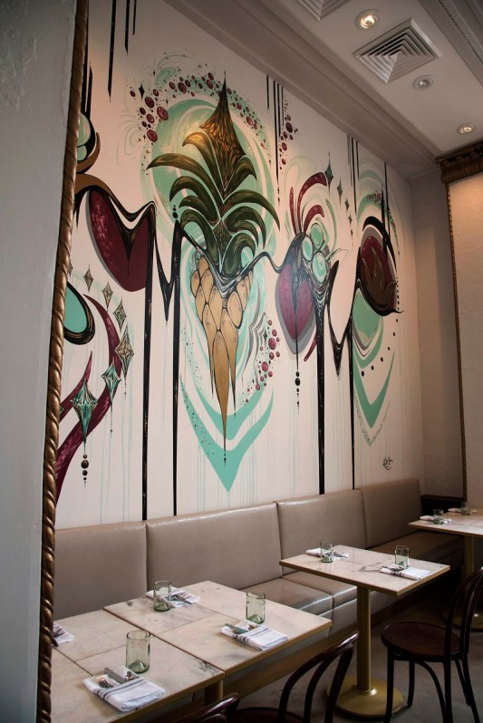 Roots & Revelry in the Thomas Jefferson Tower is the restaurant Chef Brandon Cain has been waiting to open. (Brittany Faush-Johnson / Alabama NewsCenter)