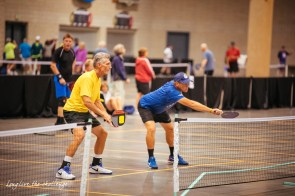 Pickleball is one of the less familiar sports at the 2017 National Senior Games in Birmingham. (Tonia McKinley)