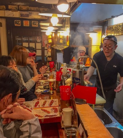 Kyoto Yakitori wants to bring the fun, relaxed atmosphere of similar restaurants in Japan to Birmingham. (Richard Newton)