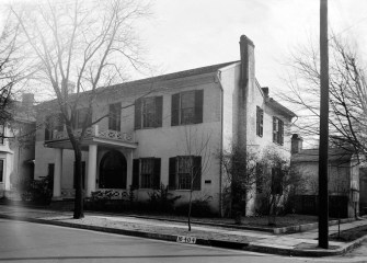 Howard Weeden House, Huntsville. Photograph was taken during the Historic American Buildings Survey, March 17, 1934. (Photographer W.N. Manning, Library of Congress Prints and Photographs Division)