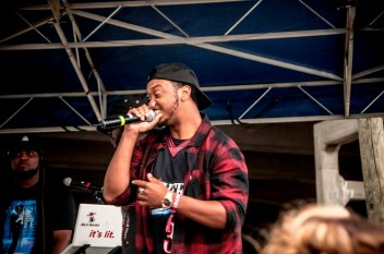 C1UB:AM performs at SlossFest. (Billy Brown / Alabama NewsCenter)