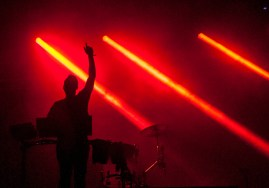 Odesza performs at SlossFest. (Billy Brown / Alabama NewsCenter)