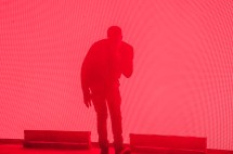 Vince Staples performs at SlossFest. (Billy Brown / Alabama NewsCenter)