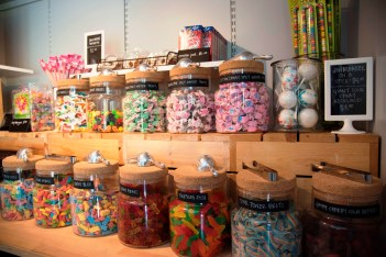 Birmingham Candy Company has its sweets for sale at its Railroad Park storefront or online. (Brittany Faush-Johnson / Alabama NewsCenter)