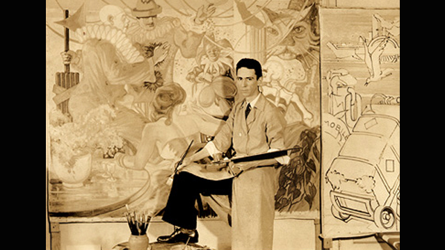 On this day in Alabama history: Artist installed 11 WPA murals in Mobile's Old City Hall