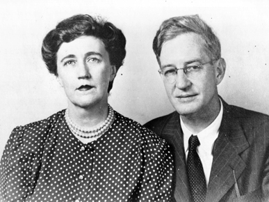 Alabamians Clifford and Virginia Durr were deeply involved in the civil rights movement. Attorney Clifford Durr represented Rosa Parks in court after her arrest for violating Montgomery's segregation laws on a city bus in 1955. (From Encyclopedia of Alabama, Courtesy of Birmingham Public Library Archives)