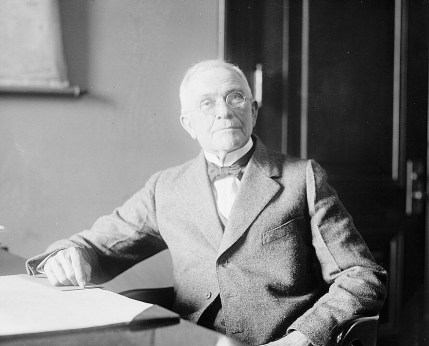 Photograph of B.B. Comer, March 16, 1920. (Library of Congress Prints and Photographs Division)